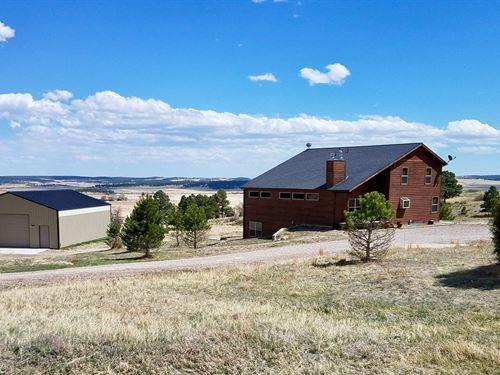 Double Tree Ranch Home : Elbert : Colorado