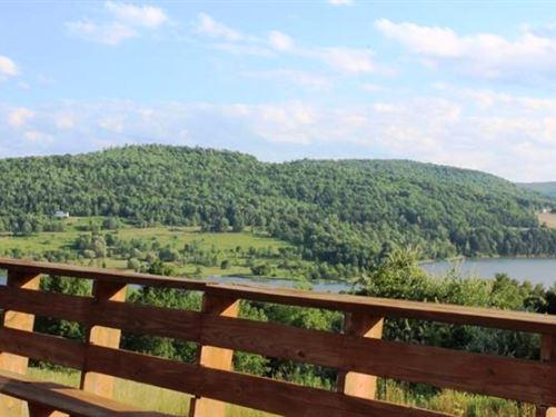 Lodge & Restaurant On 30 Acres : Lawrenceville : Tioga County : Pennsylvania