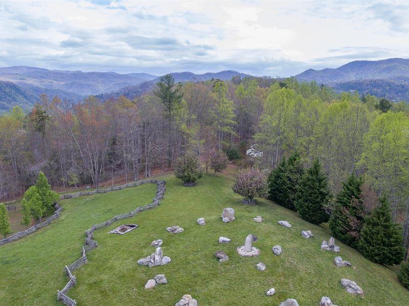 Mystical Mountain Farm Retreat : Marshall : Madison County : North Carolina