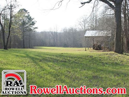 318 Acres - Offered Divided : Roberta : Crawford County : Georgia