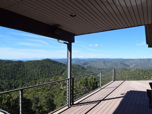 Colorado Custom Mountain Home : Canon City : Fremont County : Colorado