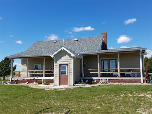 Miller School Road Ranchette : Hershey : Lincoln County : Nebraska