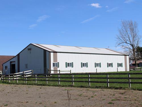 15 Acres Hobby Farm Near Ithaca Ny : Groton : Tompkins County : New York