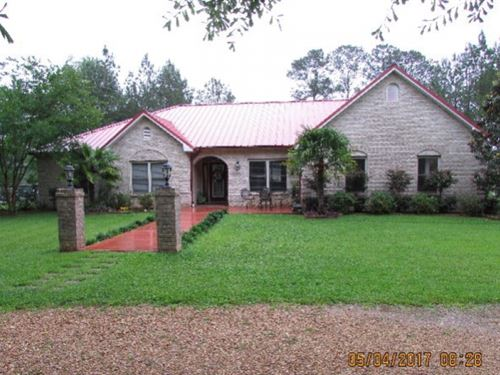 House With 39.72 Acres Southwest Ms : Summit : Pike County : Mississippi
