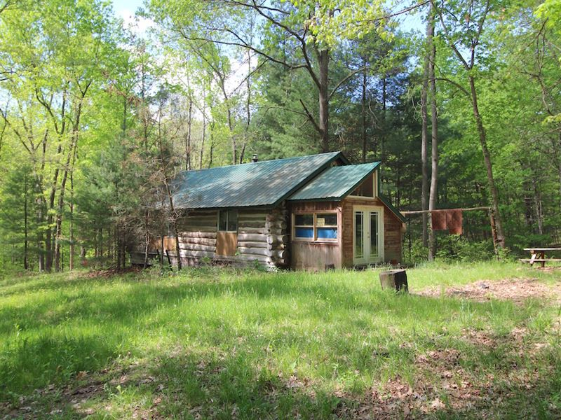 Cr 33A - 177 Acres : Shade : Meigs County : Ohio