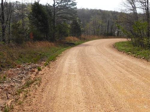 7 Acres With Ozarks Views : Peace Valley : Howell County : Missouri
