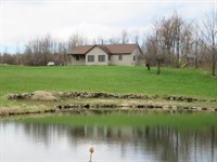345 Acre Farmland Home Watertown Ny : Hermon : Saint Lawrence County : New York
