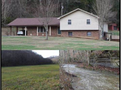 56.49 Acres & Home In Clay County : Celina : Clay County : Tennessee