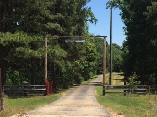 Silver Creek Ranch 518 Acres Marion : Foxworth : Marion County : Mississippi