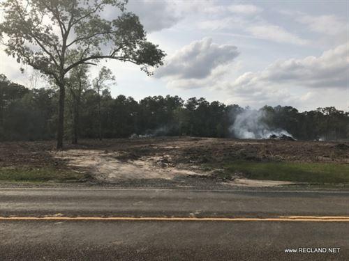 12 Ac Cleared Rural Home Site Trac : Jasper : Texas