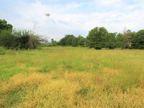 Potential Lake Front Land : Telephone : Fannin County : Texas