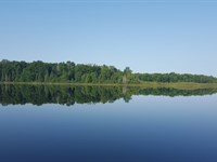 Gorgeous 6.65 Acres On Rainbow Lake : Winchester : Vilas County : Wisconsin