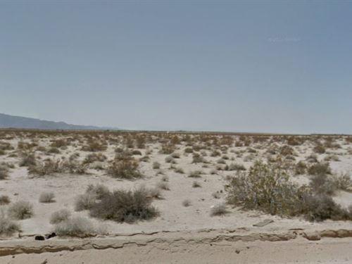 San Bernardino Co, Ca $25,000 Neg : Twentynine Palms : San Bernardino County : California