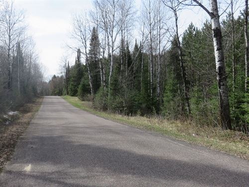 27 Beautiful Acres In Wi Northwoods : Winchester : Vilas County : Wisconsin