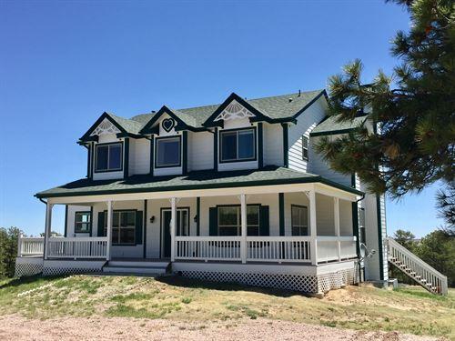 Ridge Road Home And Hunt : Agate : Elbert County : Colorado