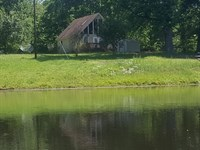 A Place With A Pond : Drakes Branch : Charlotte County : Virginia