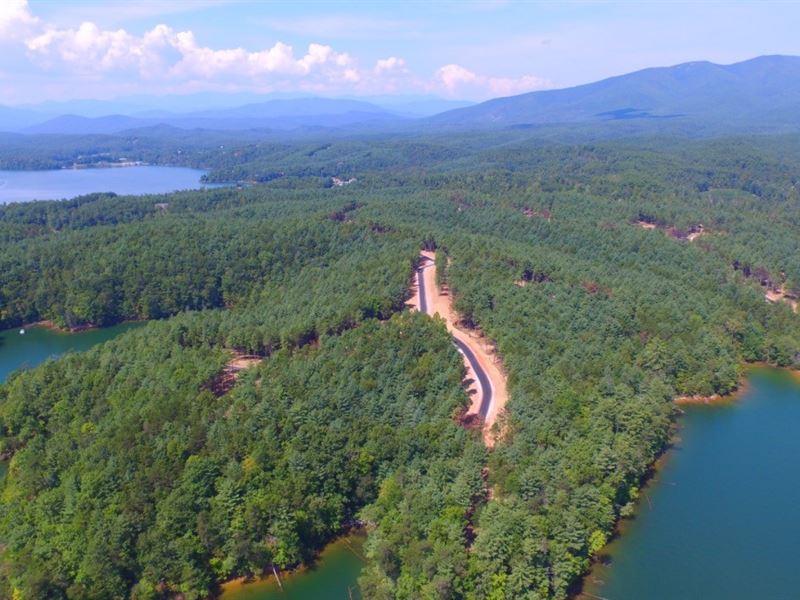 Lake Estates Up To 40+- Acres : Marion : McDowell County : North Carolina