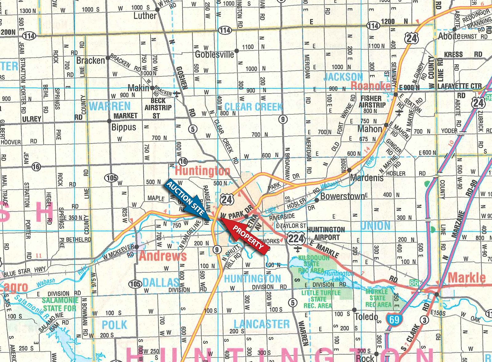 Property Owner Map Indiana