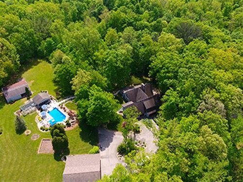 Real Estate Auction - 18.57 Acre : Huntington : Indiana