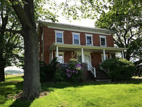 106 +/- Acre Farm With Farmhouse : Washingtonville : Montour County : Pennsylvania