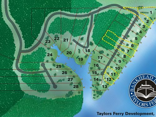 6 Waterfront Lots Wholesale : Parish : Walker County : Alabama