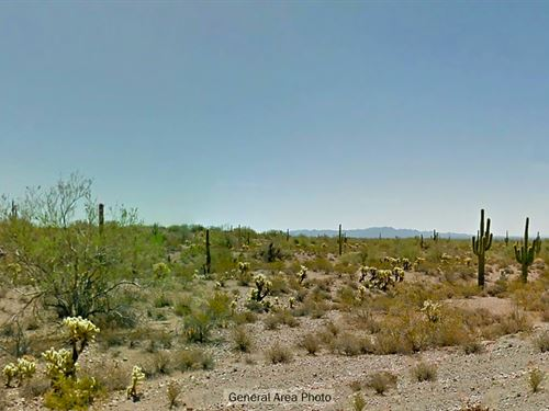 Private Rural Lot : Wickenburg : Maricopa County : Arizona