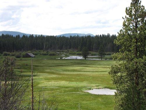 Mountan Retreat And Horse Facility : Bly : Klamath County : Oregon