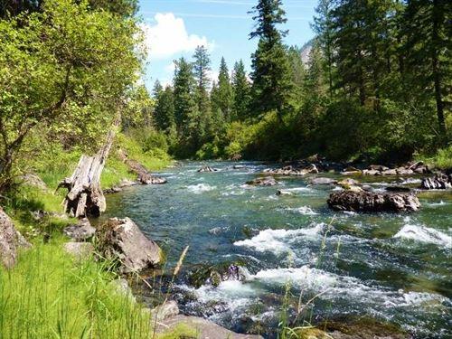 Western Montana Thompson Riverfront : Thompson Falls : Sanders County : Montana