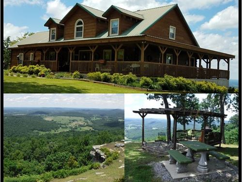 23.40 Acres & Log Cabin In Van Bure : Spencer : Van Buren County : Tennessee