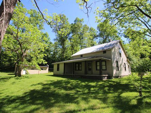 Upper Twin Creek Rd - 245 Acres : Blue Creek : Scioto County : Ohio