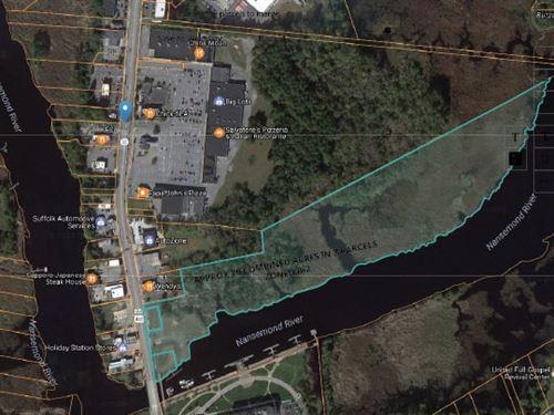 Commercial Land On Nansemond River : Suffolk : Suffolk City County : Virginia