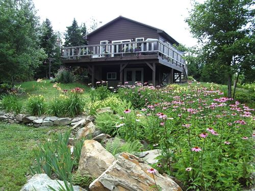 Year Round Cabin In The Maine Woods : Ludlow : Aroostook County : Maine
