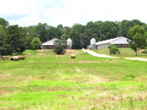 Mississippi Poultry Farm, 37 Acres : Ellisville : Jones County : Mississippi