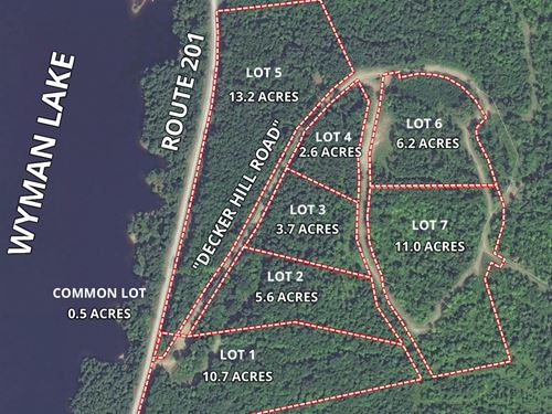 Lot 7 Decker Hill Road : Moscow : Somerset County : Maine