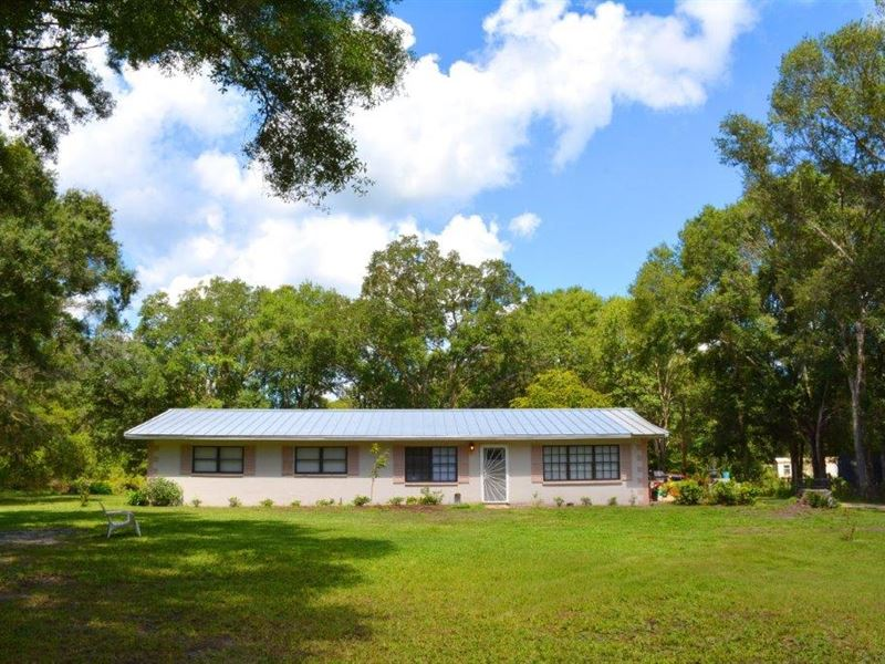 Lakeland Acres Home And Hunting Farm For Sale Lakeland