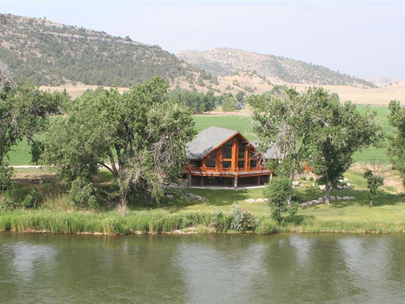 Elk River Crossing : Glendo : Platte County : Wyoming