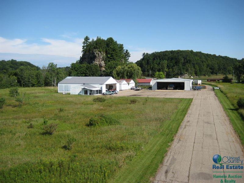 Three Castles Air Park Farm for Sale Wonewoc Juneau