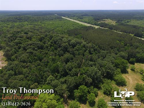 218 Acres Natchitoches Parish : Chopin : Natchitoches Parish : Louisiana