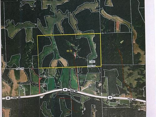 Beautiful Farm With 4Br Home : Kampsville : Calhoun County : Illinois