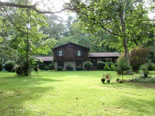 170 Acres With Free 2,500+/-Sf Home : Woodruff : Spartanburg County : South Carolina