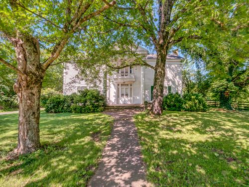 546 Acres With Federal Farmhouse : Lynchburg : Moore County : Tennessee