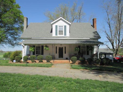 40 +/- Ac, Pre-Civil War Farm House : Rydal : Bartow County : Georgia