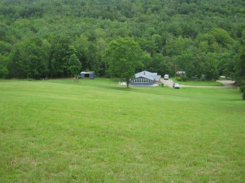 69 Acres House And Barn Near Elmira : Baldwin : Chemung County : New York