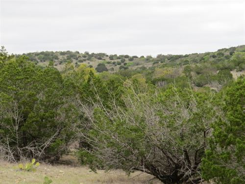 51.12 Acres Water,Electric, Hunting : Rocksprings : Edwards County : Texas