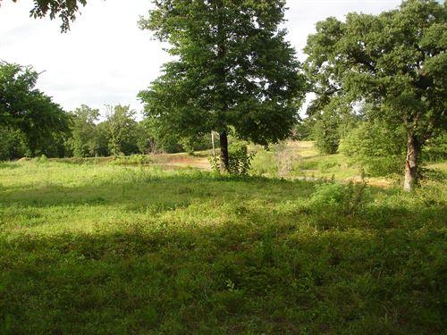 Recreational Property : Arthur City : Lamar County : Texas
