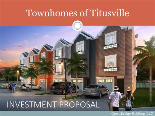 5.54 Acres In Titusville, FL : Titusville : Brevard County : Florida