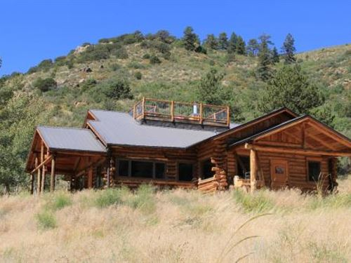Colorado Big Game Hunting Mountain : Cotopaxi : Fremont County : Colorado