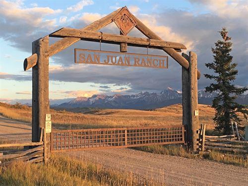 Acreage Near Telluride : Ridgway : San Miguel County : Colorado