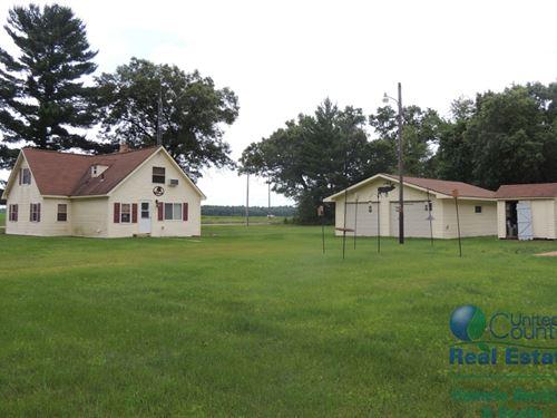 Hunting Retreat W/ Financial Return : Easton : Adams County : Wisconsin