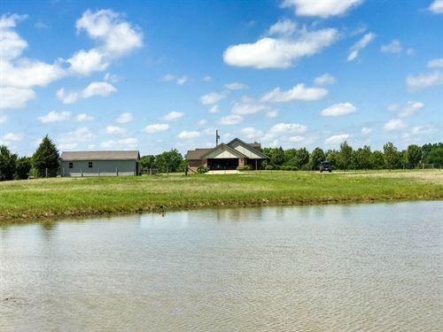 3/2 On 25 Acres : Brashear : Hopkins County : Texas